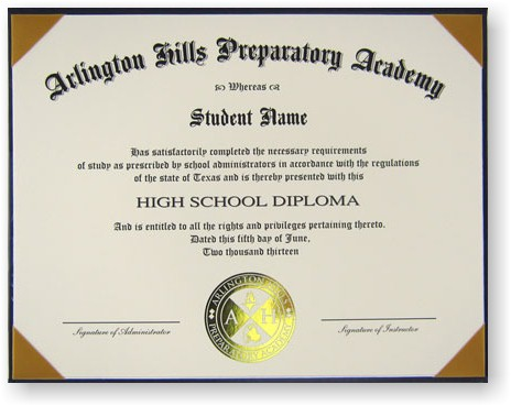Diploma Crest Options for Schools With a Diploma Template
