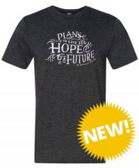 """Hope and a Future"" Bible verse Vintage T-shirt"