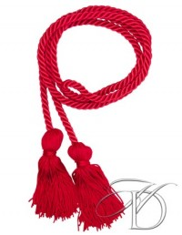 Red Honor Cords for High School or Homeschool Graduation