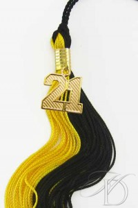Black & Gold Tassel