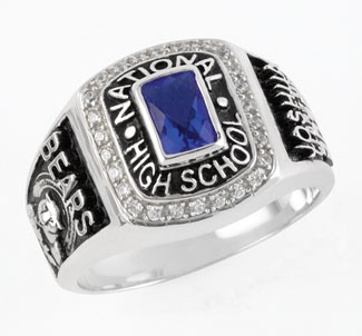 The Stellar Class Ring is offered in several metals and with your choice of birthstone.