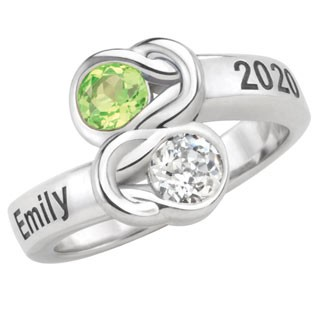 Class Ring makes an great gift for a Homeschooled Girl