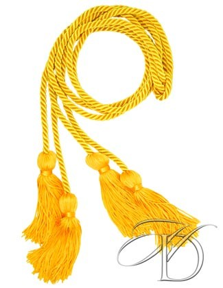 Gold Double Honor Cord Set